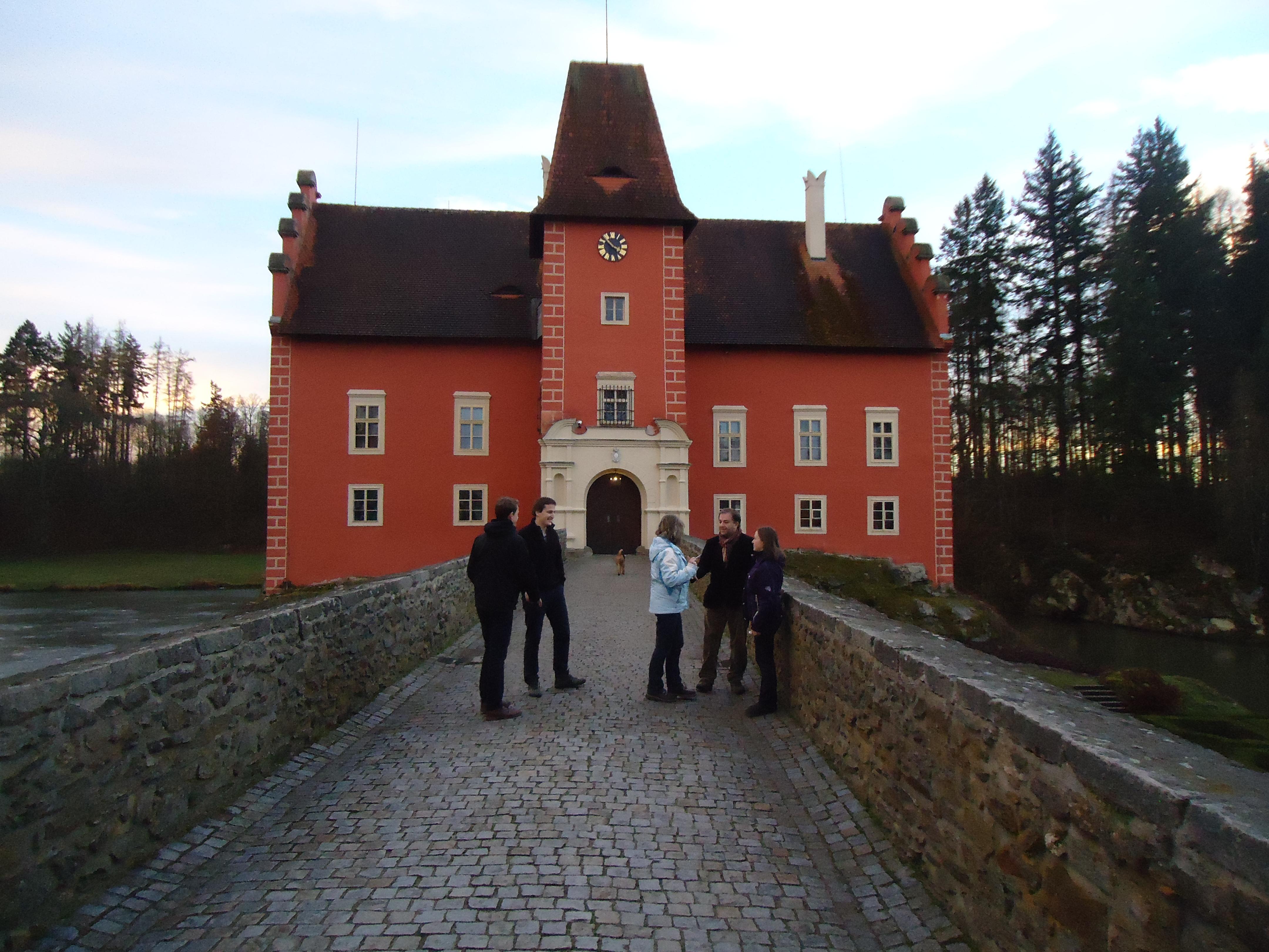 Návštěva zámku Červená Lhota