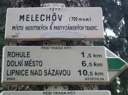 Výlet na vrch Melechov