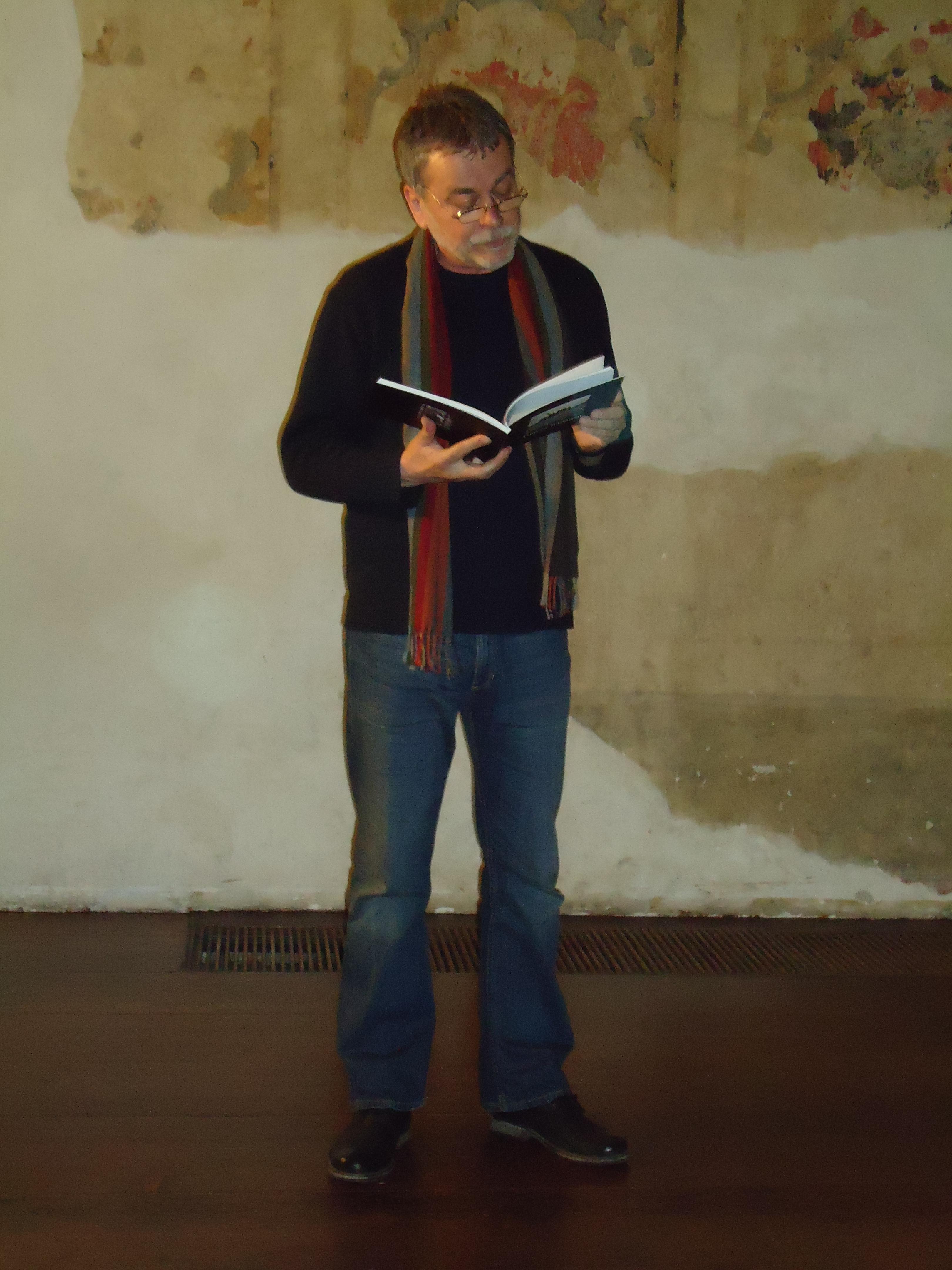 Křest knihy Miloše Doležala - Ezechiel v kopřivách
