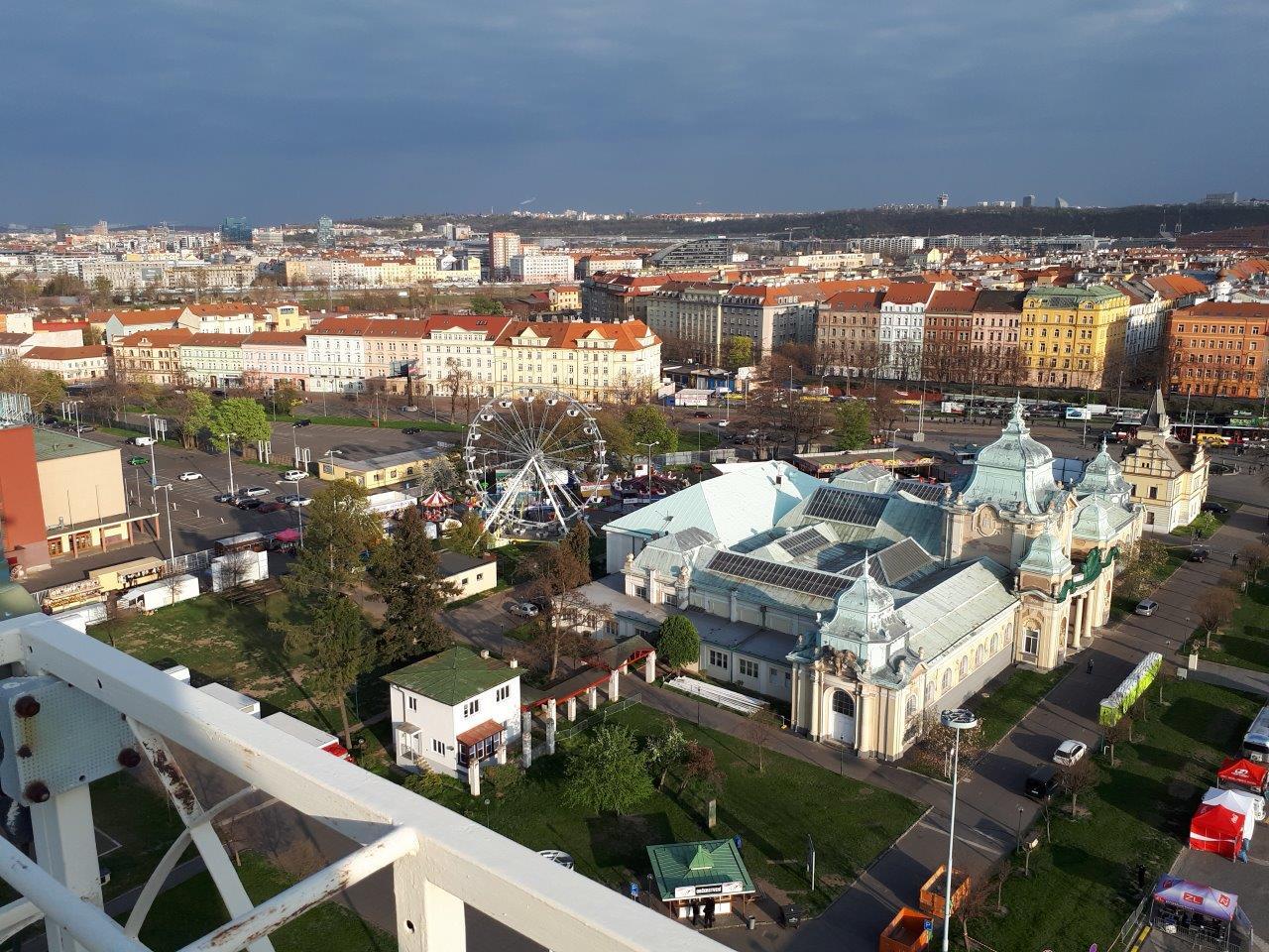 Vycházka do zapovězených prostor  pražského Výstaviště