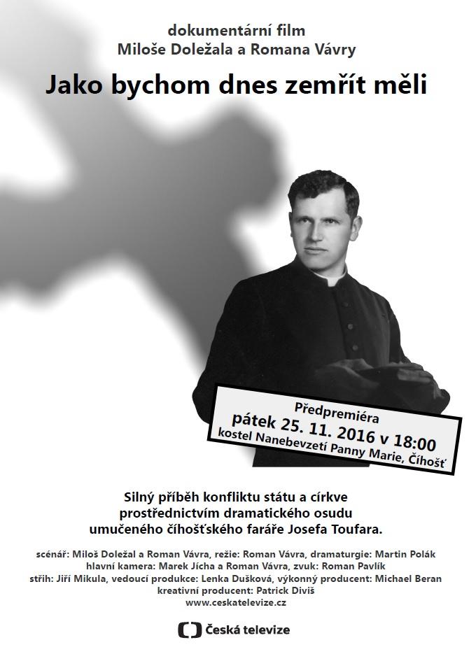 Pozvánka na dokumentární film Miloše Doležala a Romana Vávry
