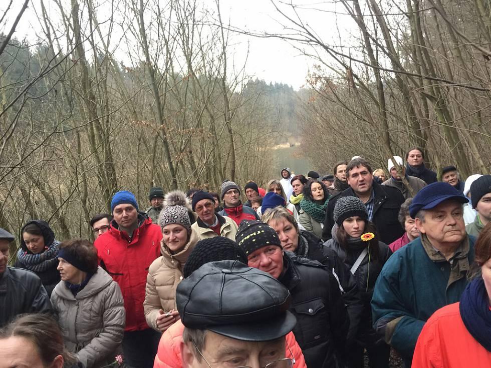 Vzpomínková akce v Kobylím dole u Kožlí - 24. ledna 2015