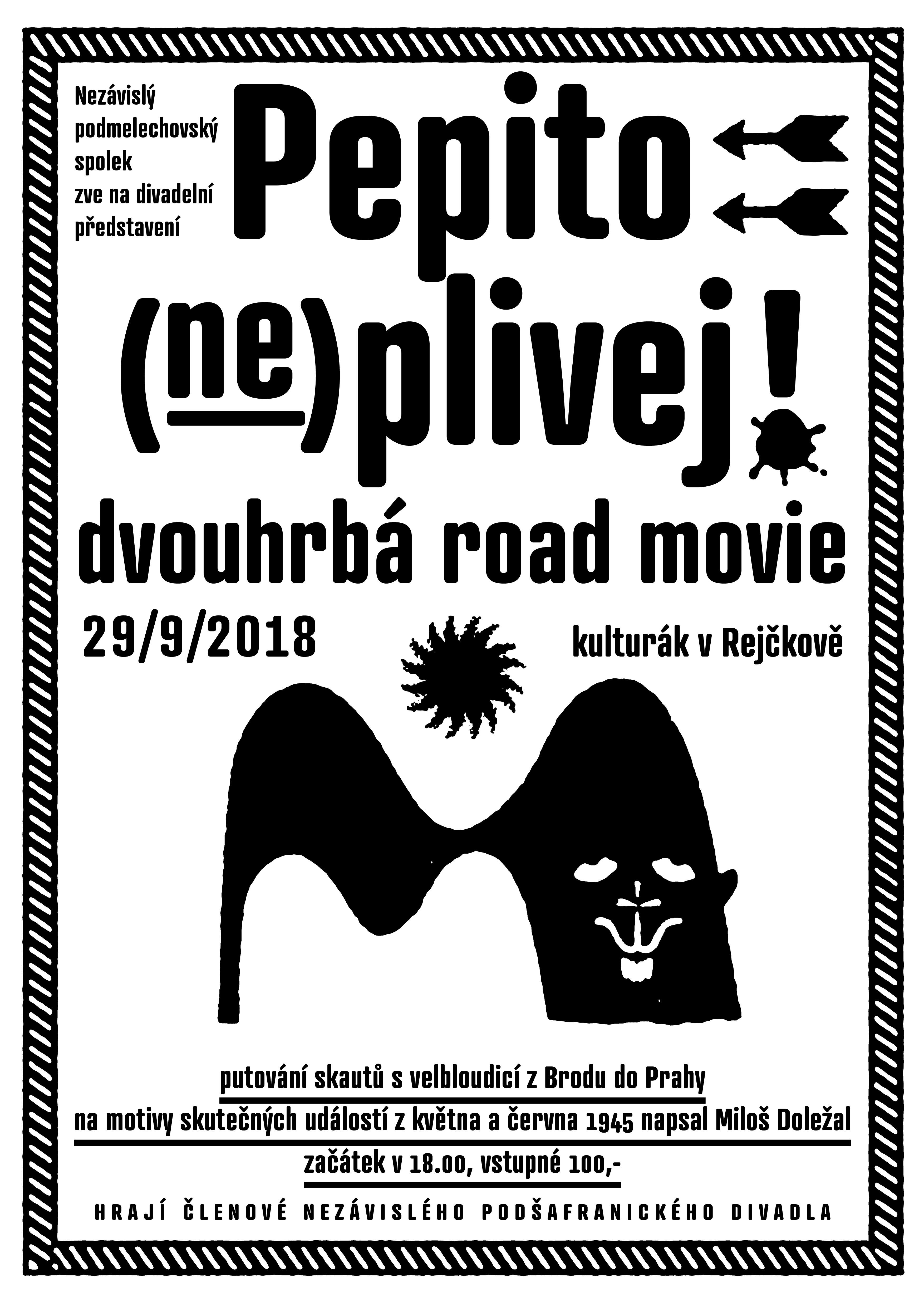 Divadelní představení Pepito (ne)plivej