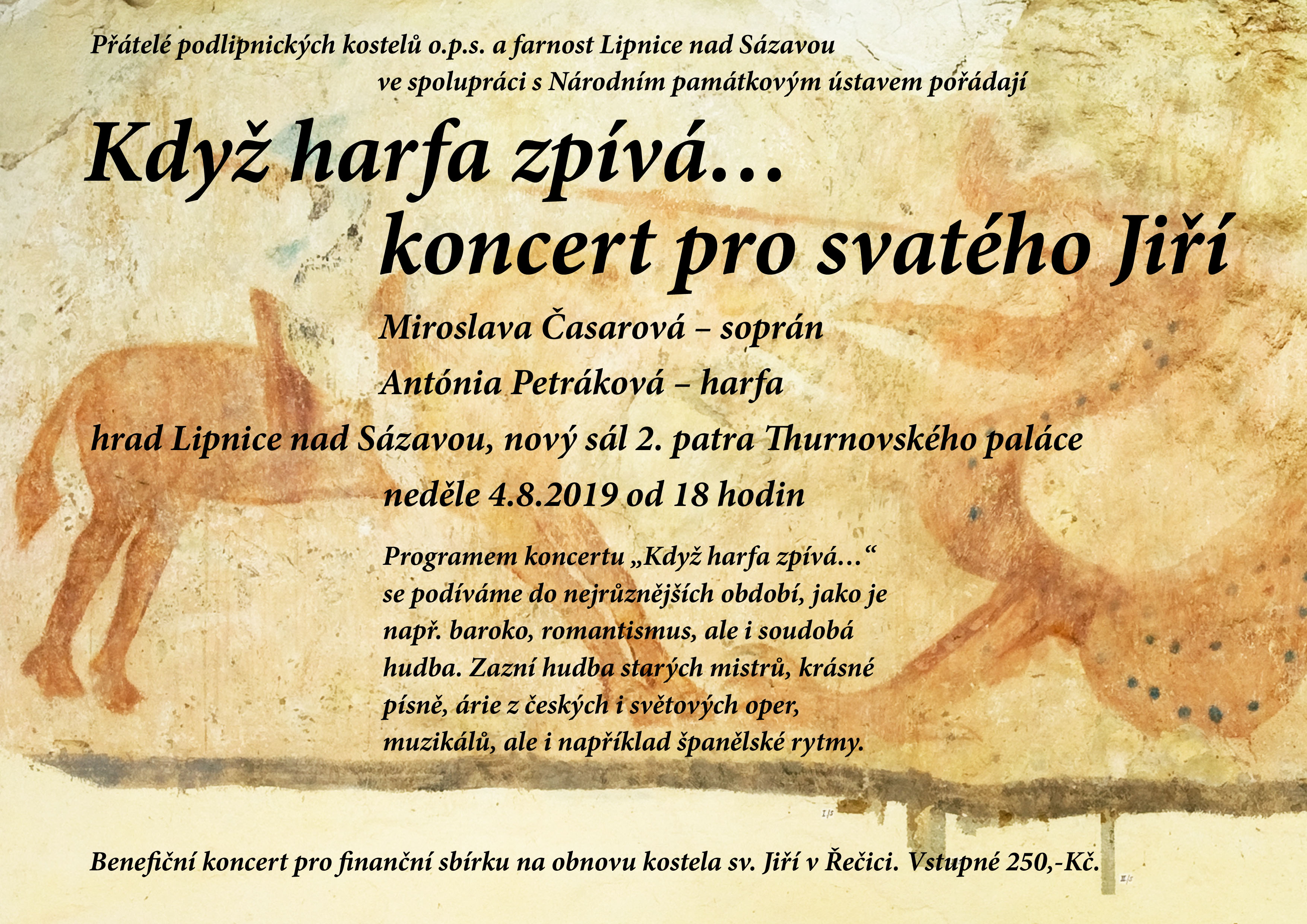 Když harfa zpívá ... koncert pro svatého Jiří