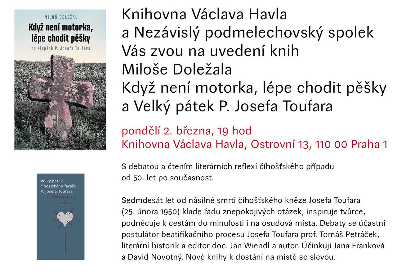 Uvedení knih v knihovně Václava Havla