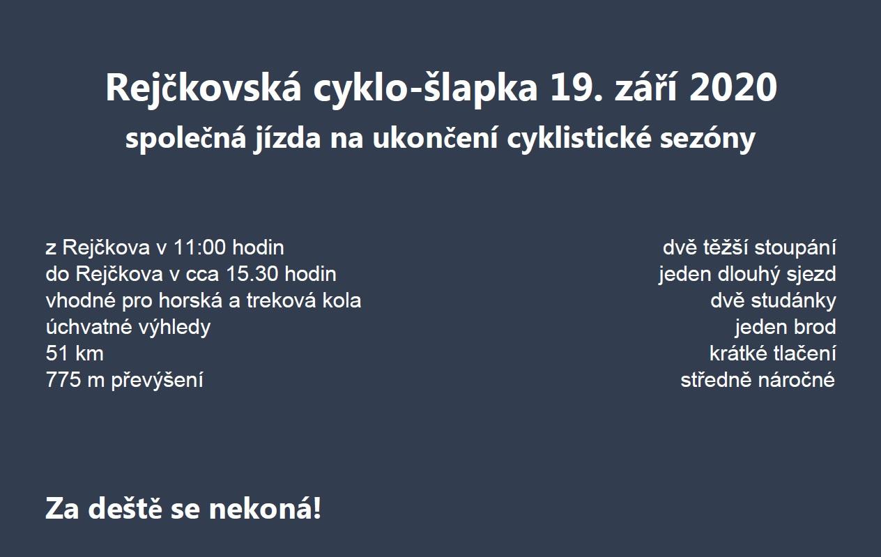 Rejčkovská cyklo-šlapka